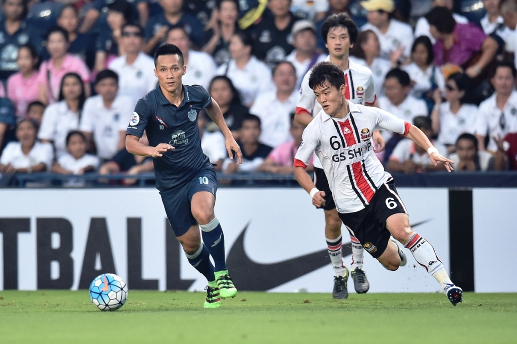 Buriram United vs FC Seoul 2016 AFC Champions League