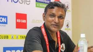 Tampines Rovers Head Coach V. Sundramoorthy