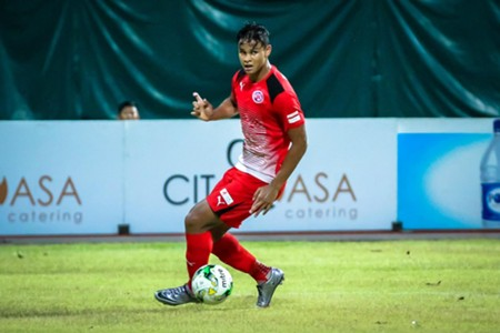 Irfan Fandi Home United FC 2016 S.League
