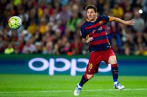 Despite missing a penalty, Messi was the driving force for most of Barcelona's attacks.