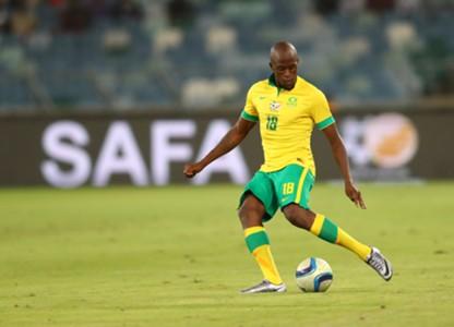 Sifiso Hlanti, Bafana Bafana, March 2016.