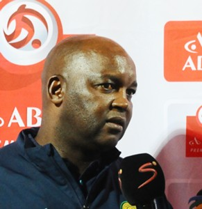 Pitso Mosimane, Mamelodi Sundowns, March 2016.