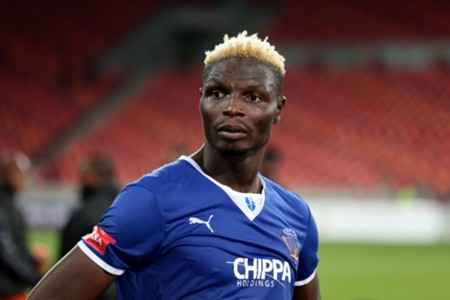 Chippa United striker Aristide Bance