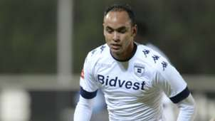 Eleazar Rodgers in action for Bidvest Wits