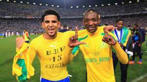 Keagan Dolly of & Khama Billiat