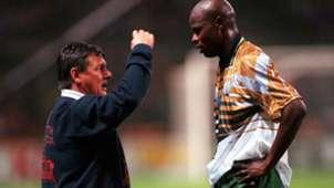 Clive Barker and Philemon Masinga