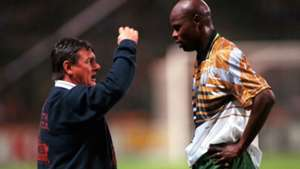 Clive Barker and Philemon Masinga