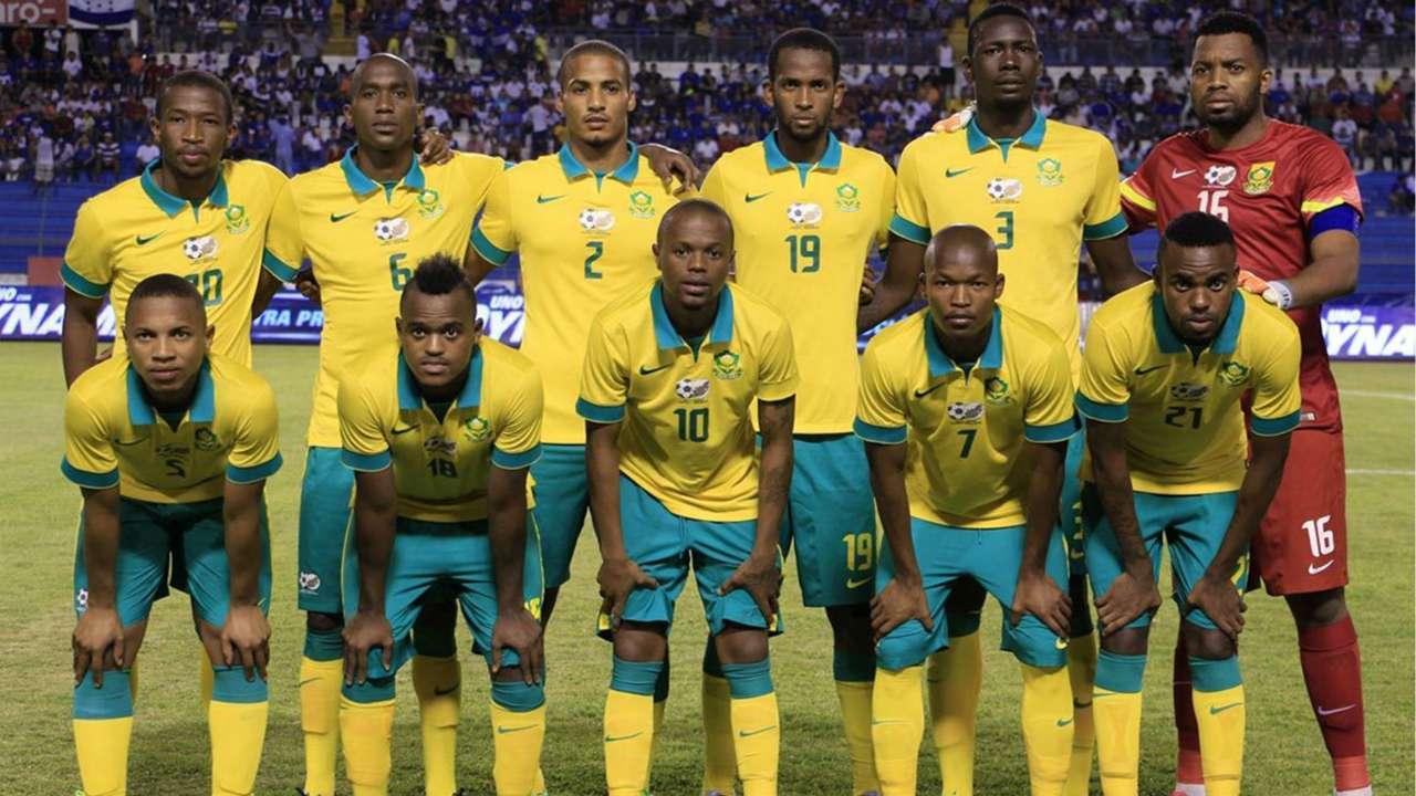 Bafana Bafana line-up vs Honduras