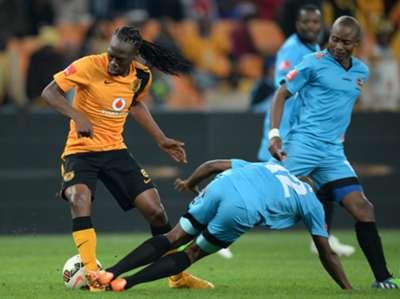 Kaizer Chiefs midfielder Reneilwe Letsholonyane