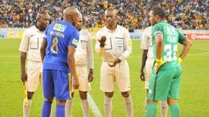 Lebogang Manyama and Itumeleng Khune - Cape Town City and Kaizer Chiefs