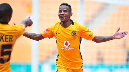 Joseph Molangoane in Kaizer Chiefs colours