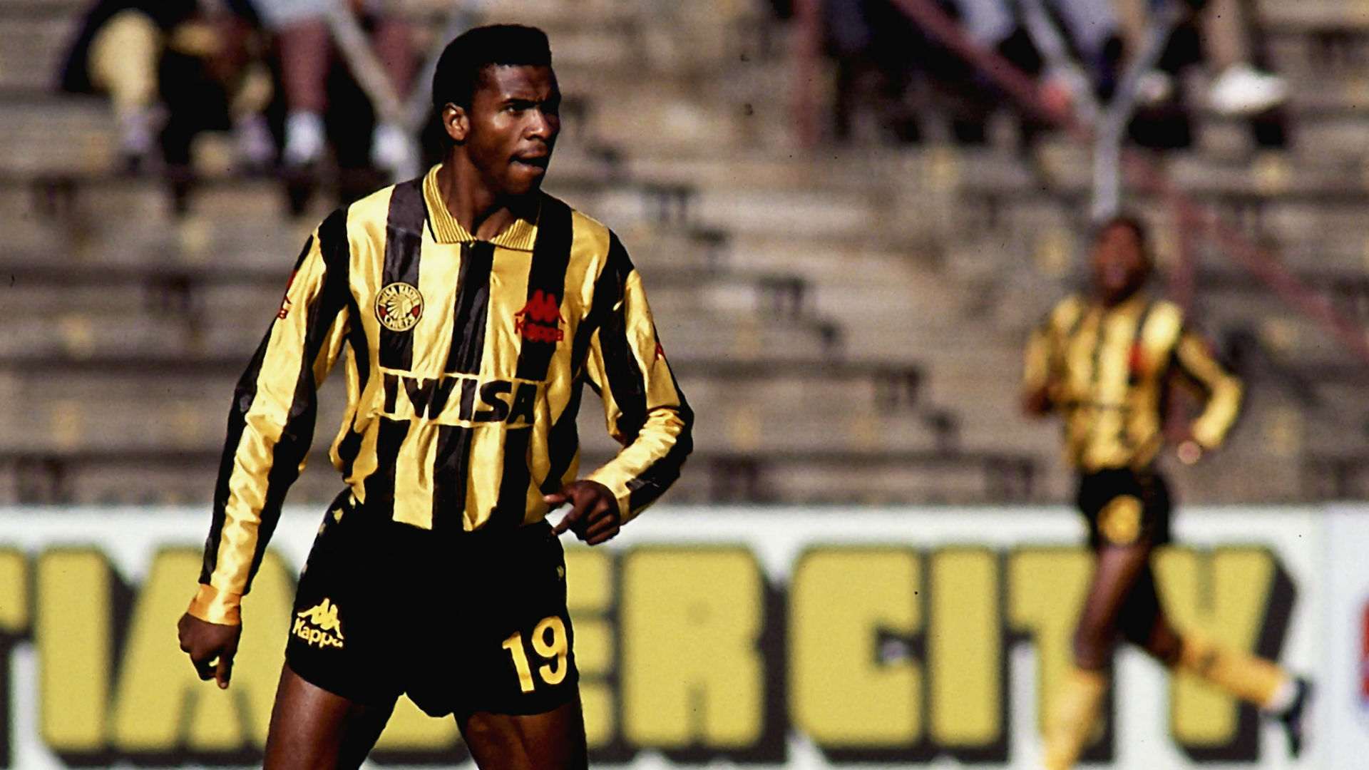 Lucas Radebe of Kaizer Chiefs
