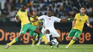 Ayanda Gcaba, Dean Furman of South Africa, Pape Diop of Senegal