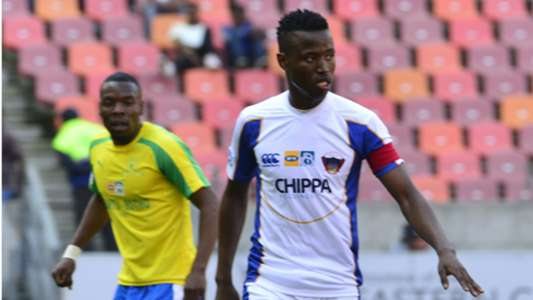 Thamsanqa Sangweni in action for Chippa United