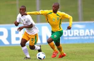 Nduduzo Sibiya and Lala Ntsoane