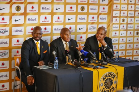 Komphela, Kaizer and Bobby Motaung