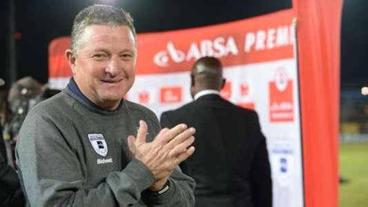 Coach of Bidvest Wits Gavin Hunt
