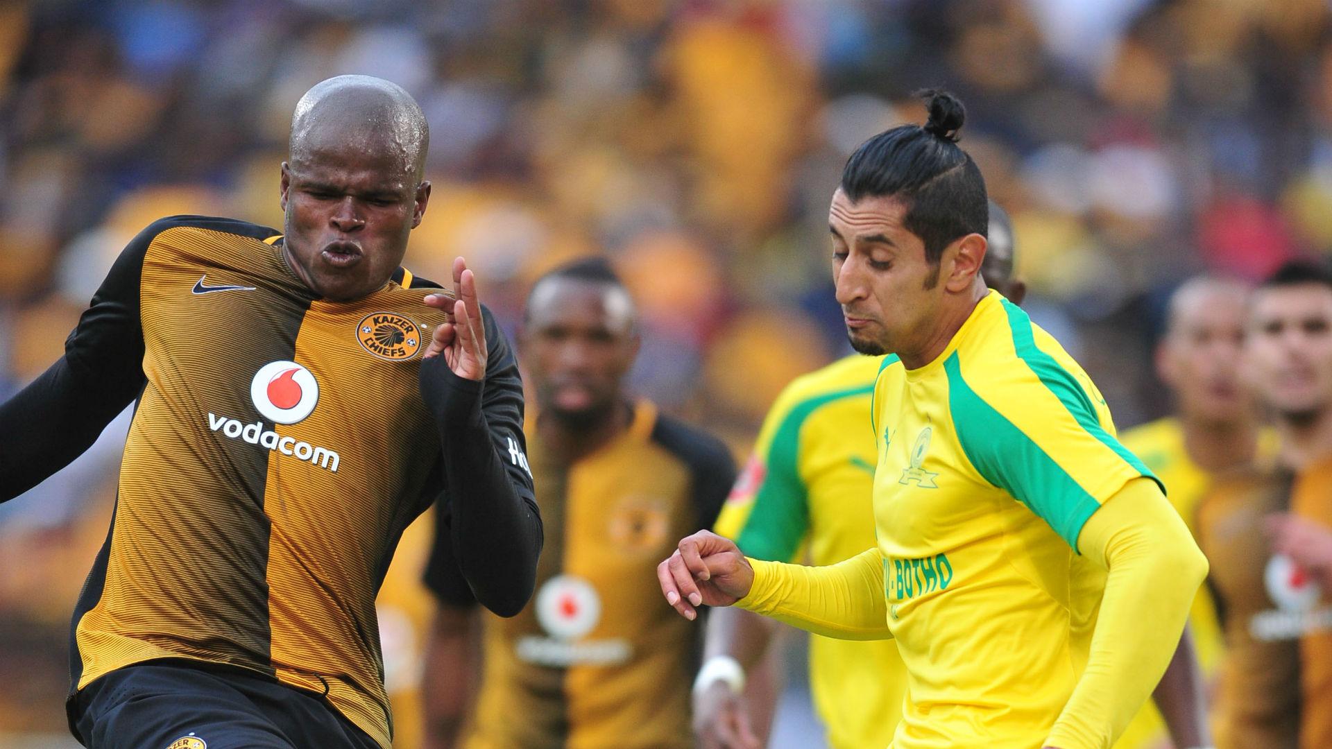Kaizer Chiefs striker Bernard Parker says attacking midfielders are stopping scoring