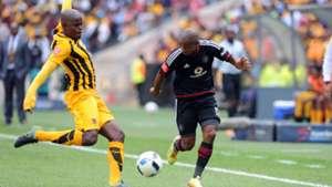 Willard Katsande and Thabo Qalinge - Pirates vs Chiefs