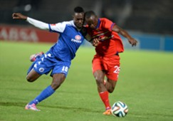 Dove Wome of SuperSport &  Khethukuthula Zwane of Tuks