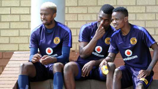 William Twala, Enocent Mkhabela and Joseph Molangoane - Kaizer Chiefs