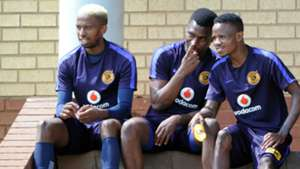 William Twala, Enocent Mkhabela and Joseph Molangoane - Kaizer Chiefs