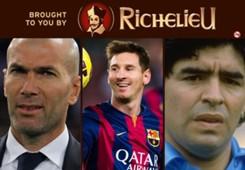 Richelieu HP - Zidane, Messi, Maradona