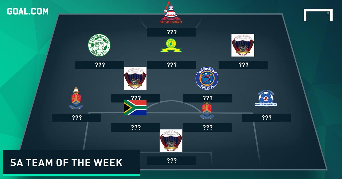 SA Team of the Week - May 12