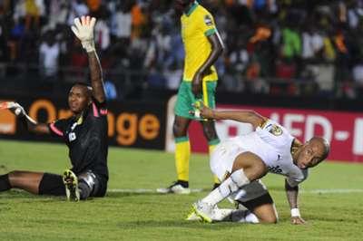 Brilliant Khuzwayo & Andre Ayew