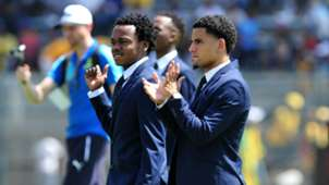 Percy Tau and Keagan Dolly - Sundowns