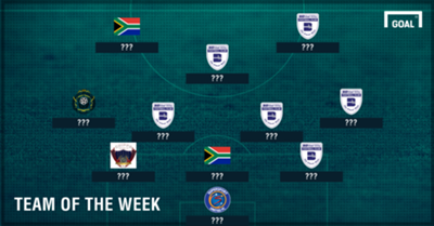 Goal SA Team of the Week October 3