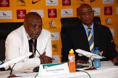 Shakes Mashaba, Bafana Bafana, May 2016.