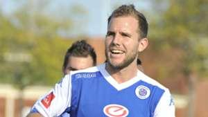 Jeremy Brockie scores for SuperSport United