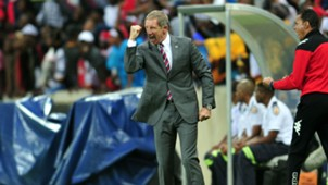 SuperSport United head coach Stuart Baxter.