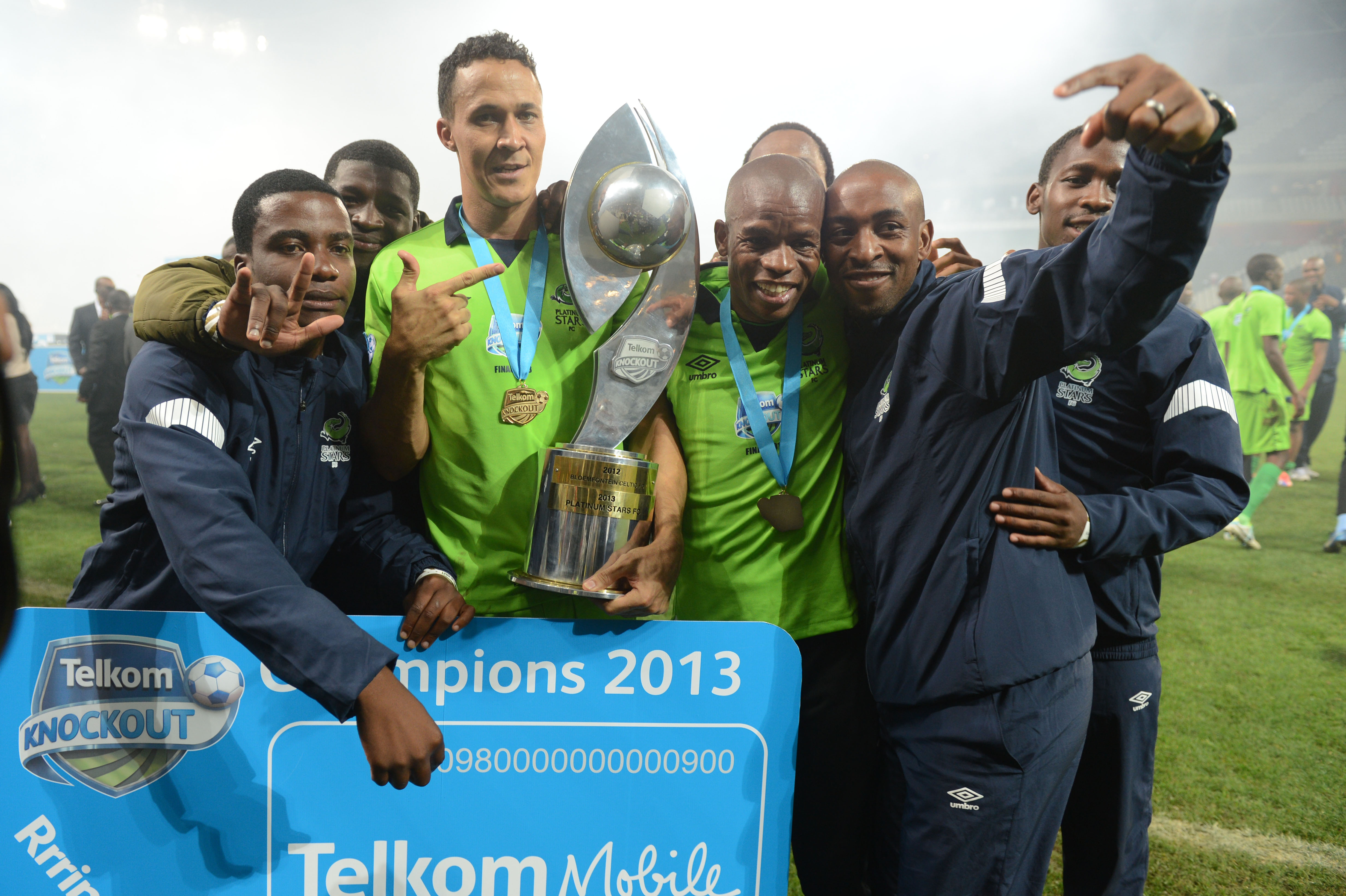 Platinum Stars Telkom Knockout champs 2013