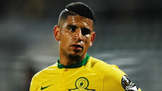 Keagan Dolly against Zamalek