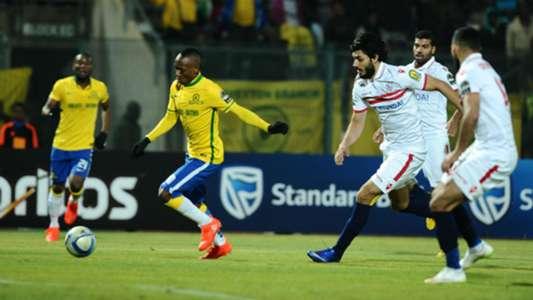 Khama Billiat against Zamalek