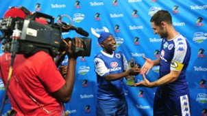 Dean Furman accepts Man of the Match award