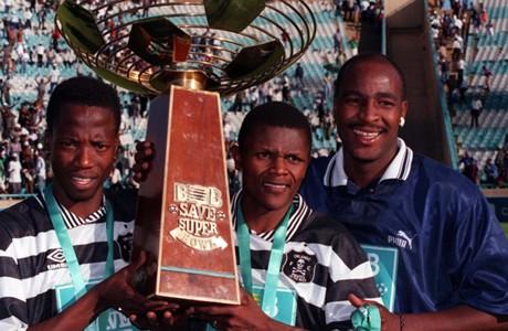Andries Sebola, John Moeti and Dumisa Ngobe