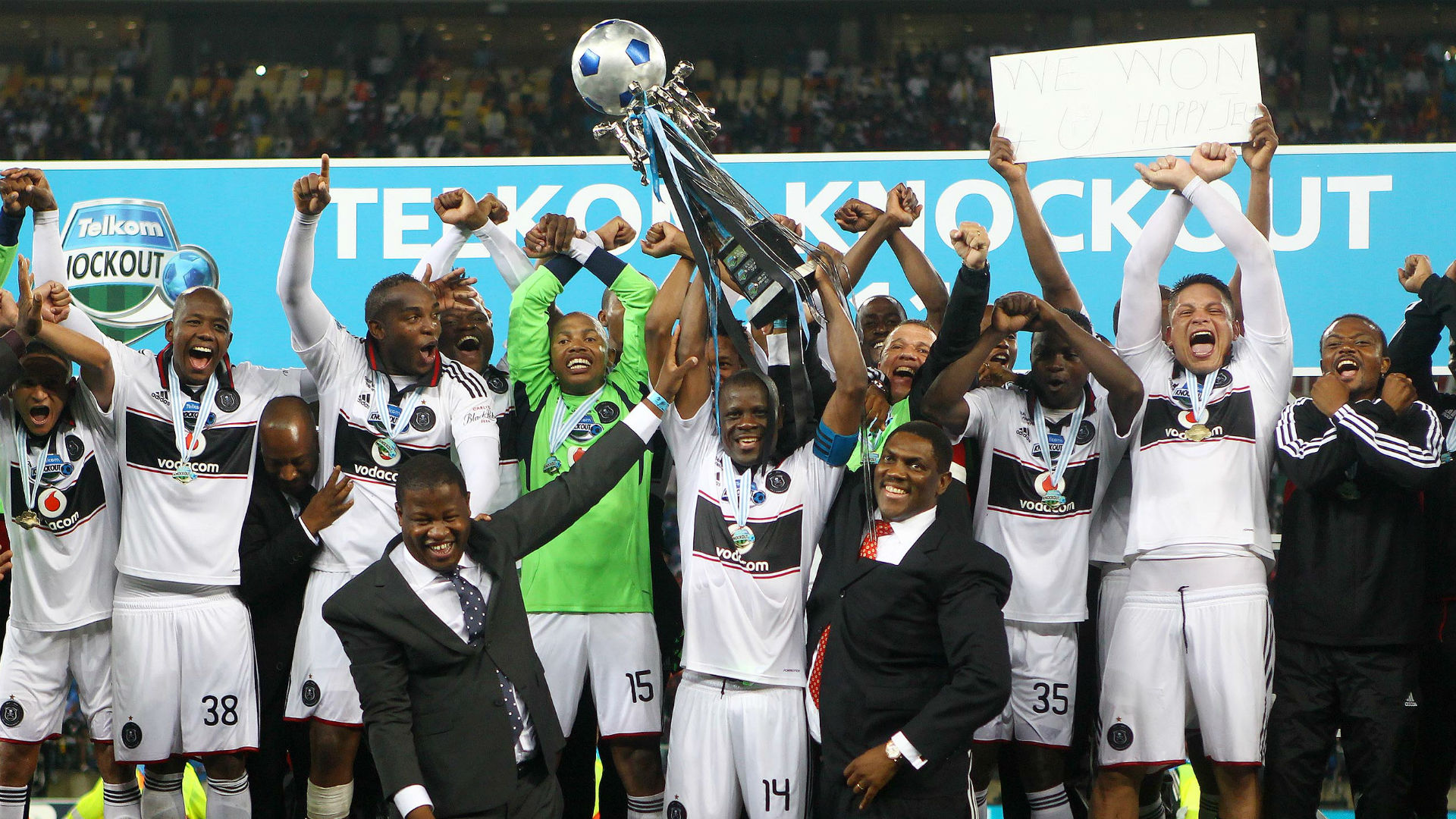 Feature Orlando Pirates Record In Telkom Knockout Cup Finals