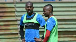 Anele Ngcongca and Khama Billiat of Sundowns