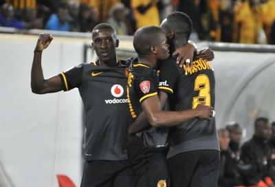 Siyanda Xulu, Willard Katsande and Erick Mathoho - Kaizer Chiefs