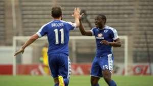 Jeremy Brockie and Thuso Phala - SuperSport United