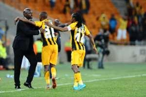 Bernard Parker, Siphiwe Tshabalala and Steve Komphela
