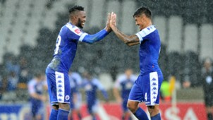 Morgan Gould and Clayton Daniels - SuperSport United