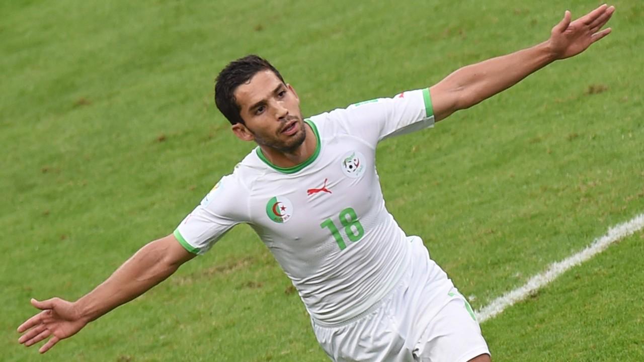 Abdelmoumene Djabou of Algeria
