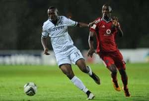 Siyabonga Nhlapo and Thabo Rakhale - Bidvest Wits v Orlando Pirates