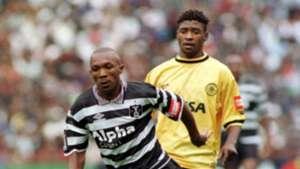 Clifford Moleko and Pollen Ndlanya - Chiefs vs Pirates