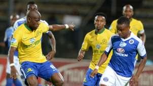 Hlompho Kekana and David Mathebula - Sundowns and SuperSport United