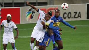 Thulani Hlatshwayo of Bidvest Wits against Cape Town City
